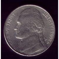 5 центов 2002 год Р США