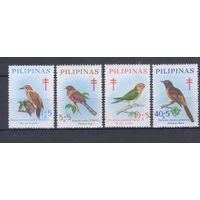 [929] Филиппины 1969. Фауна.Птицы.