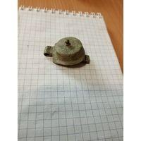 Крышечка для старинной трубки ( латунь. целая)