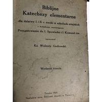 Biblijne Katechezy elementarne Tarnow 1920r.