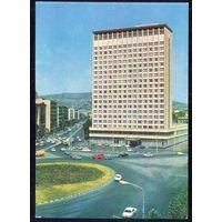 """ДМПК СССР 1977 Тбилиси гостиница """"Аджария"""" автомобили"""
