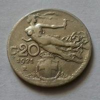 20 чентезимо, Италия 1921 г.