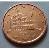 5 евроцентов, Италия 2007 г.