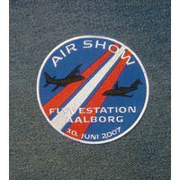 Шеврон Air show Fly vestation Aalborg 10. juni 2007