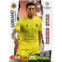 Коллекция PANINI Лига Чемпионов УЕФА 2011-2012. Adrenalyn XL // Villarreal // Soriano