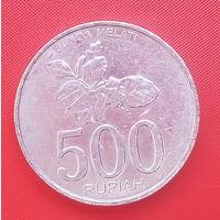 61-10 Индонезия, 500 рупий 2003 г.