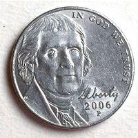 США, 5 центов 2006 P