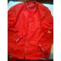 Куртка плащевая с двумя карманами