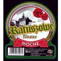 Этикетка Пиво Katuszowe крепкое Польша
