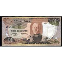 Ангола 100 эскудо 1972 г. (Pick 101) (45842)  распродажа