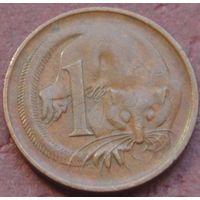 1522:  1 цент 1966 p Австралия