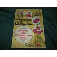 С 1 рубля!Коллекция Основные виды промышленного сырья(учебная)СССР 1980 г.(часть 3)