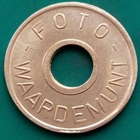 Жетон для стиральных машин-FOTO WAARDEMINT-НИДЕРЛАНДЫ