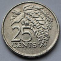 Тринидад и Тобаго, 25 центов 1998 г.