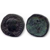 Cестерций 241-243, Гордиан III - Gordian III, Рим