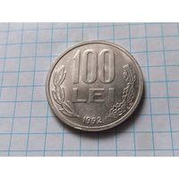 Румыния 100 леев, 1992