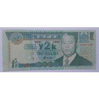 Фиджи 2 доллара 2000 года UNC