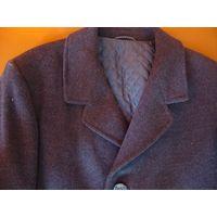 Пальто мужское шерсть деми размер 176  96