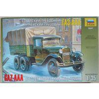 """Сборная модель 1/35 """"ГАЗ-АА"""" Советский трёхосный армейский грузовик."""