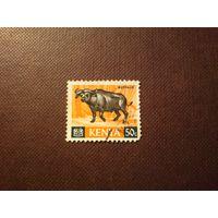 Кения 1966 г.Африканский буйвол.