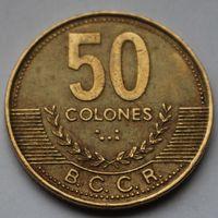 Коста-Рика, 50 колон 2002 г