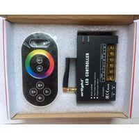 RGB контроллер для лент, модулей, линеек. 5-24V, 120-576W, ПДУ радио сенсор 2.4G. LN-RF8B. Arlight