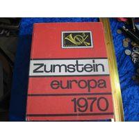 Zumstein europa 1970. Швейцарский каталог почтовых марок всех стран Европы.