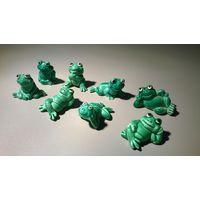 """Игрушки Киндер. Серия """"Happy Frogs (1986)""""."""