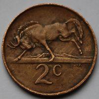 ЮАР, 2 цента 1987 г