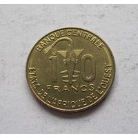 Западная Африка (BCEAO) 10 франков 2018