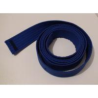 W: Пояс синий для единоборств (каратэ)