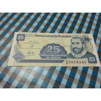 25 центаво де кордоба Никарагуа