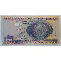 Вануату 200 вату 1995 года UNC