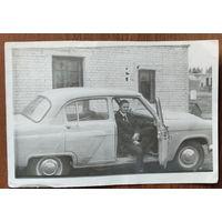Фото в автомобиле. 9х13 см