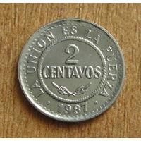 Боливия 2 сентаво 1987 (223)