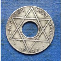 Британская Западная Африка колония 1/10 пенни 1920 Георг V