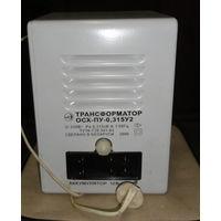 Трансформатор с подзарядным устройством для хозяйственных помещений ОСХ-ПУ-0,315 У2. Понижение сетевого напряжения в бытовых помещениях повышенной опасности (гаражи, сараи, подвалы и т.п.) и подзарядк