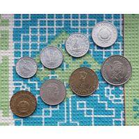 Коммунистическая Венгрия 10, 20, 50 филлеров; 1, 2, 5, 10, 20 форинтов