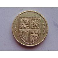 Великобритания 1 фунт 2011