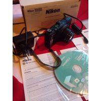 Цифровой фотоаппарат Nikon Coolpix S9300 c GPS
