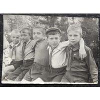 Фото пионеров 1950-х. 9х13 см.