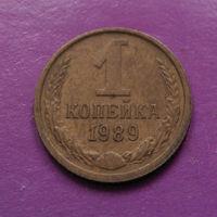 1 копейка 1989 года СССР #10