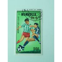 Монголия 1986. Чемпионат мира по футболу