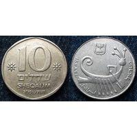 W: Израиль, 10 шекелей 1982, Краузе КМ#119 (1009)