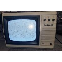 Маленький телевизор рабочий Сапфир-412 СССР
