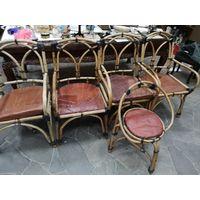 Комплект стульев , кресела для дачи с 1 рубля