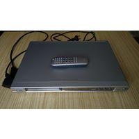 Рабочий плеер/проигрыватель ДВД Philips DVD VIDEO PLAYER с дистанционным пультом и коллекцией дисков в придачу