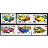 1971 ОАЭ. Аджман. Спортивные автомобили