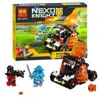 "Конструктор Лего Nexo Knights ""Безумная катапульта""  10474  105 дет НОВИНКА!!!"
