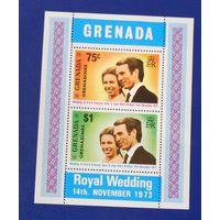 Гренада 1973 год. Королевская свадьба